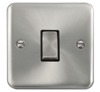 Click Deco Satin Chrome
